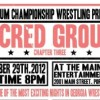 Georgia Wrestling Now broadcasts live from PCW's Sacred Ground: Chapter Three