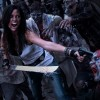 Deathblade fights zombies in a cage during the Atlanta Zombie Apocalypse