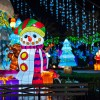 Global Winter Wonderland combines holiday lights, carnival rides and circus thrills