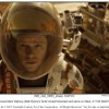 "Matt Damon's is the only life on Mars in ""The Martian"""