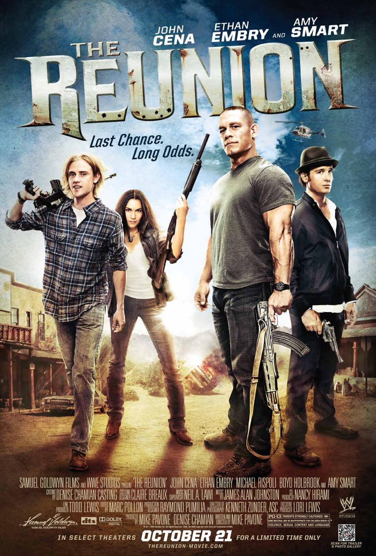 WWE superstar John Cena flexes his action movie muscles ...