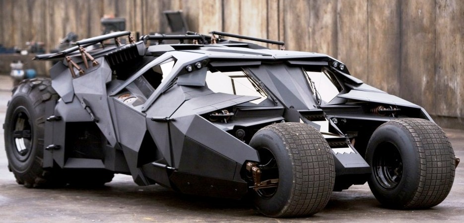 Batman Begins Tumbler
