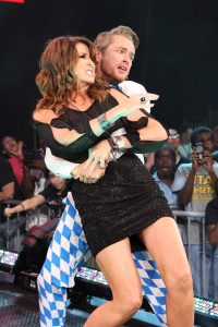 Rockstar Spud and Dixie Carter