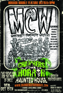 Monstrosity Championship Wrestling at Chambers of Horror