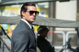 "Henry Cavill trades in his Superman outfit for a swanky spy suit in ""The Man From U.N.C.L.E."" Photo courtesy of Warner Bros. Pictures."