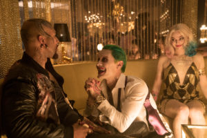 "Facial tattoos are very Common in ""Suicide Squad,"" most notably with Common's Monster T, Jared Leto's Joker and Margot Robbie's Harley Quinn. Photo by Clay Enos/ TM & (c) DC Comics."